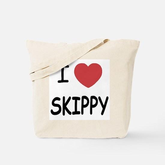 I heart skippy Tote Bag