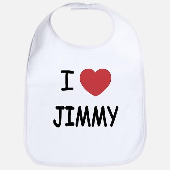 I heart jimmy Bib