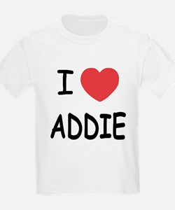 I heart addie T-Shirt