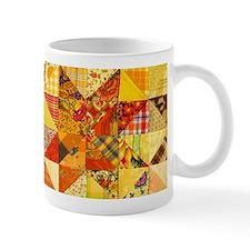 Fun Patchwork Quilt Small Mug