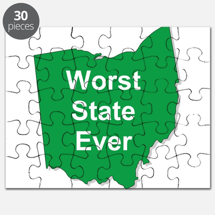 Cute Worst state ever Puzzle