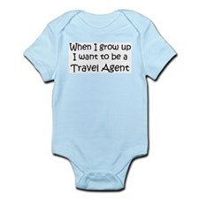 Grow Up Travel Agent Infant Creeper