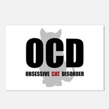 OCD Cat Postcards (Package of 8)
