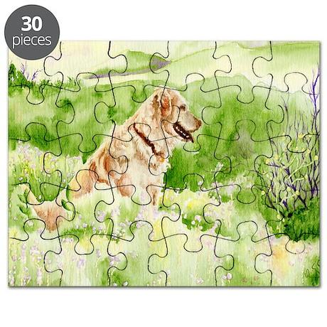 Golden Retriever Chance Puzzle
