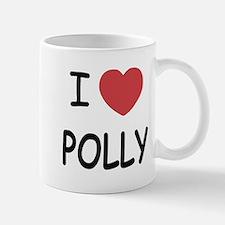 I heart polly Mug