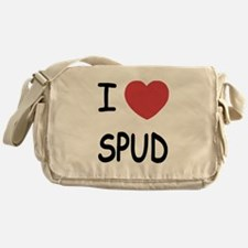 I heart spud Messenger Bag