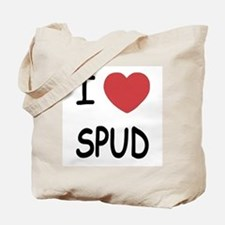 I heart spud Tote Bag