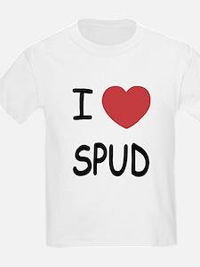 I heart spud T-Shirt