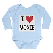 I heart moxie Long Sleeve Infant Bodysuit