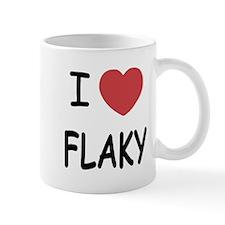I heart flaky Mug