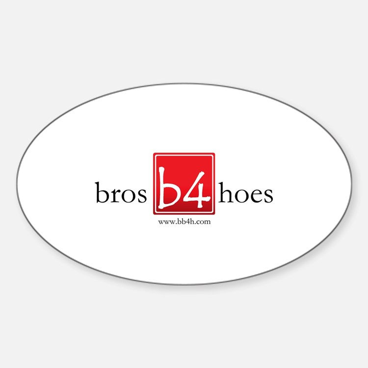 Bros Before Hoes Logo Decal