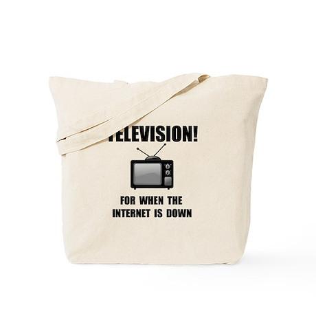 Television Internet Tote Bag