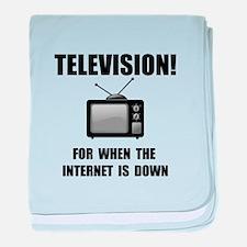 Television Internet baby blanket