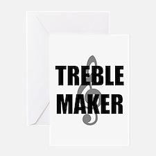 Treble Maker Greeting Card