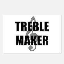 Treble Maker Postcards (Package of 8)