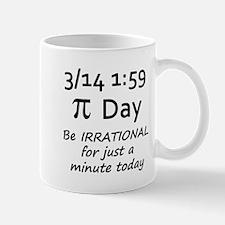 Pi Day - Be Irrational Mug