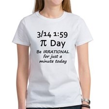 Pi Day - Be Irrational Tee