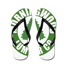 Morning Wood Lumber Co. Flip Flops
