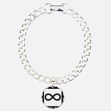Infinity Charm Bracelet, One Charm