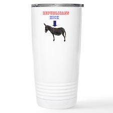 Unique Republicans kick ass Travel Mug