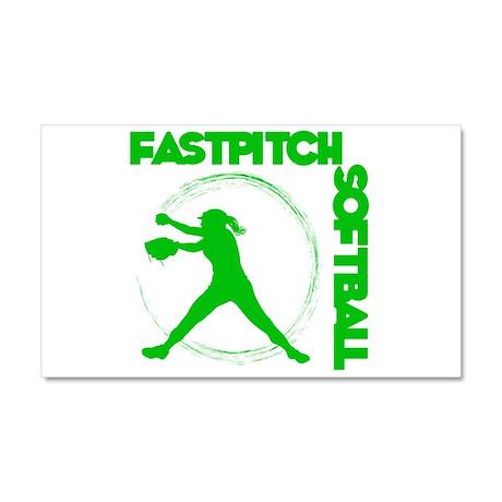 FASTPITCH Car Magnet 20 x 12
