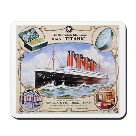 Titanic First Class Soap Mousepad