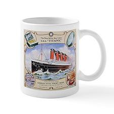 Titanic First Class Soap Mug