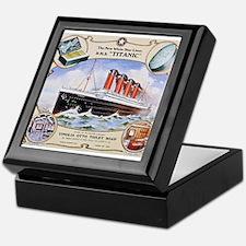 Titanic First Class Soap Keepsake Box