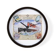 Titanic First Class Soap Wall Clock