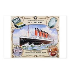 Titanic First Class Soap Postcards (Package of 8)