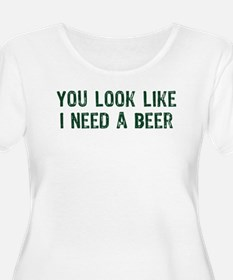 I Need A Beer T-Shirt
