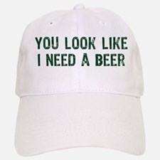 I Need A Beer Baseball Baseball Cap