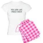 I Need A Beer Women's Light Pajamas