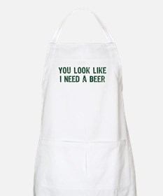 I Need A Beer Apron