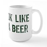 I Need A Beer Large Mug
