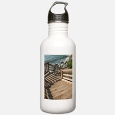 38th Ave Stairs Pleasure Poin Water Bottle