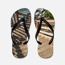 38th Ave Stairs Pleasure Poin Flip Flops