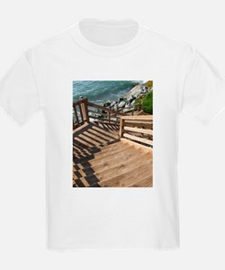 38th Ave Stairs Pleasure Poin T-Shirt