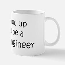 Grow Up Ceramic Engineer Mug