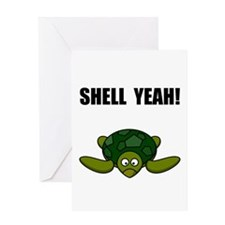 Shell Yeah Greeting Card