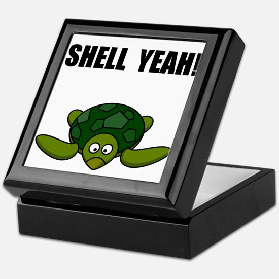 Shell Yeah Keepsake Box