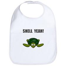 Shell Yeah Bib