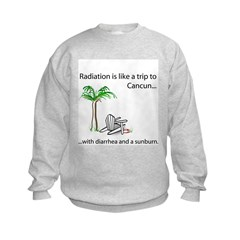 Radiation and Cancun Sweatshirt