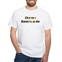 Chemo Commando White T-Shirt