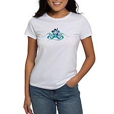 Ocean Blues Hibiscus, Tee