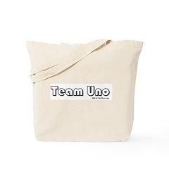 Team Uno Tote Bag