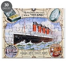 Titanic First Class Soap Puzzle