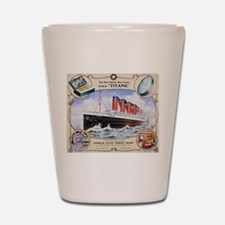 Titanic First Class Soap Shot Glass