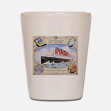Titanic First Class Soap Shot Glass