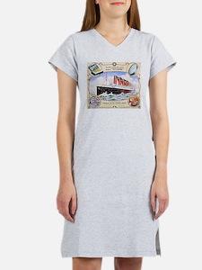 Titanic First Class Soap Women's Nightshirt